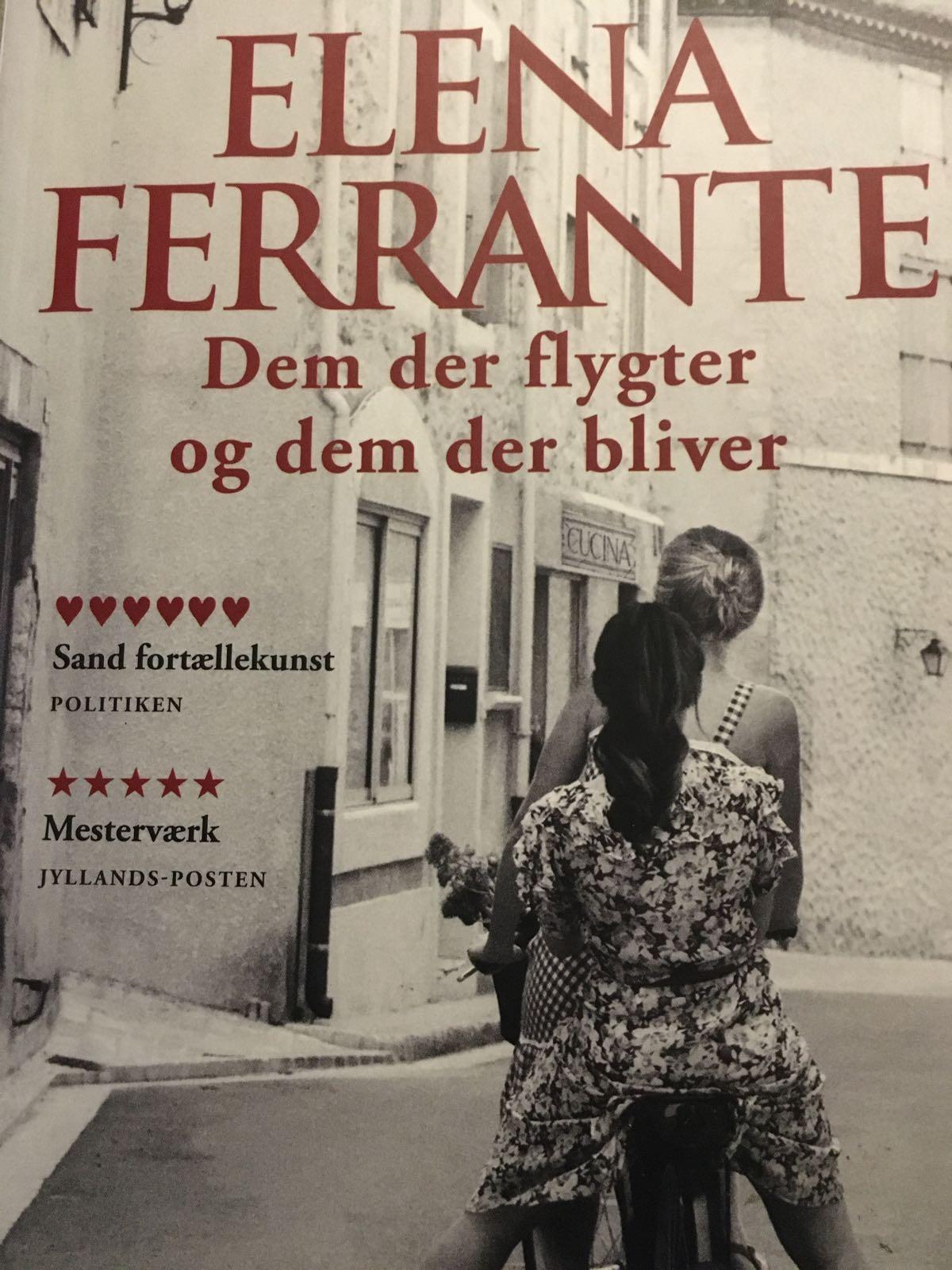 Dem der flygter og dem der bliver af Elena Ferrante - 9788740044461