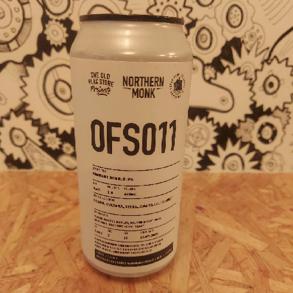 Northern Monk OFS011 Coconut DIPA 8.6%
