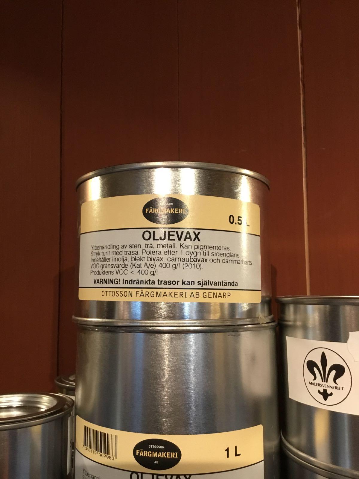 Oljevoks 0.5 liter
