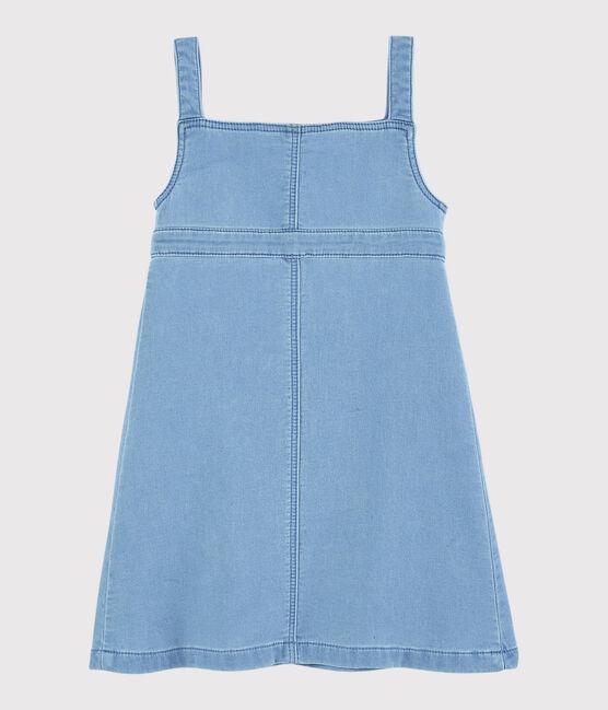 Petit Bateau Denim Dungaree Dress