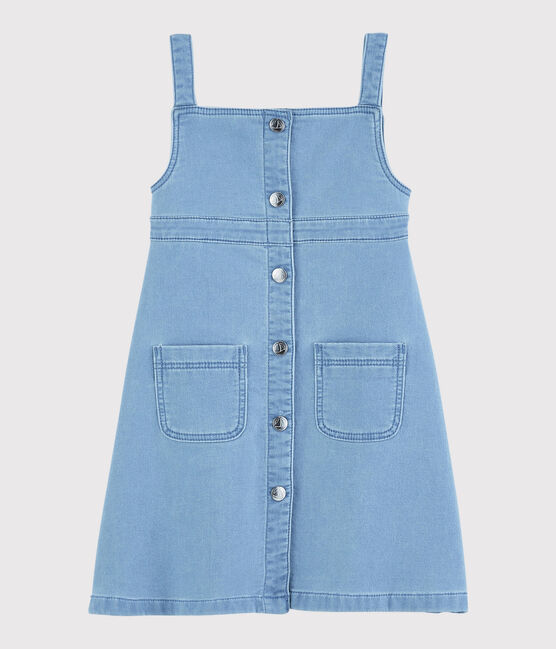 Petit Bateau Denim Dungaree Dress