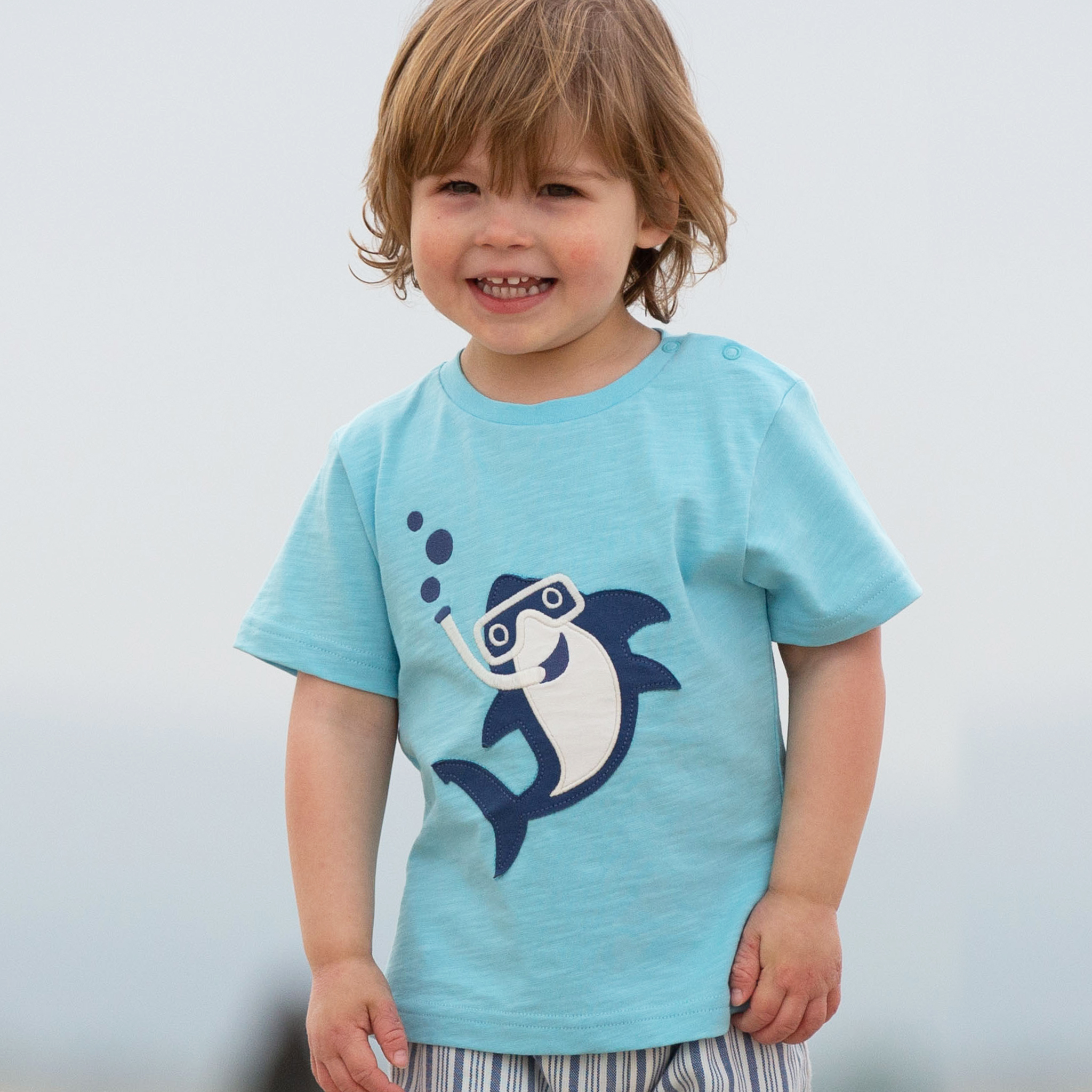Kite Snorkel Shark T Shirt
