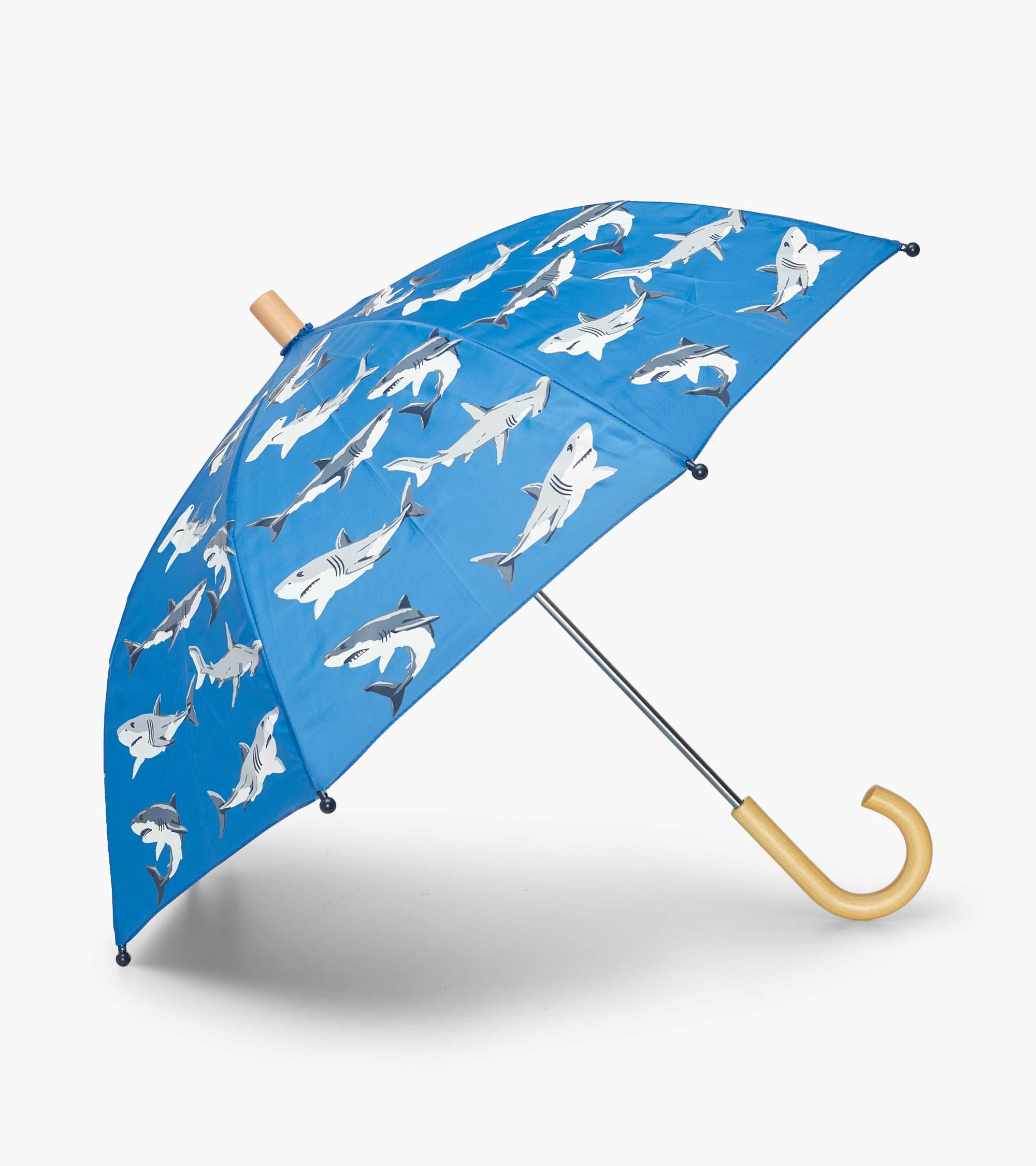 Hatley Deep-Sea Sharks Colour Changing Umbrella