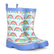 Hatley Magical Rainbows Shiny Welly Boot
