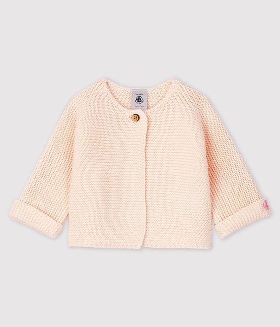 Petit Bateau Babies Organic Cotton Knit Cardigan