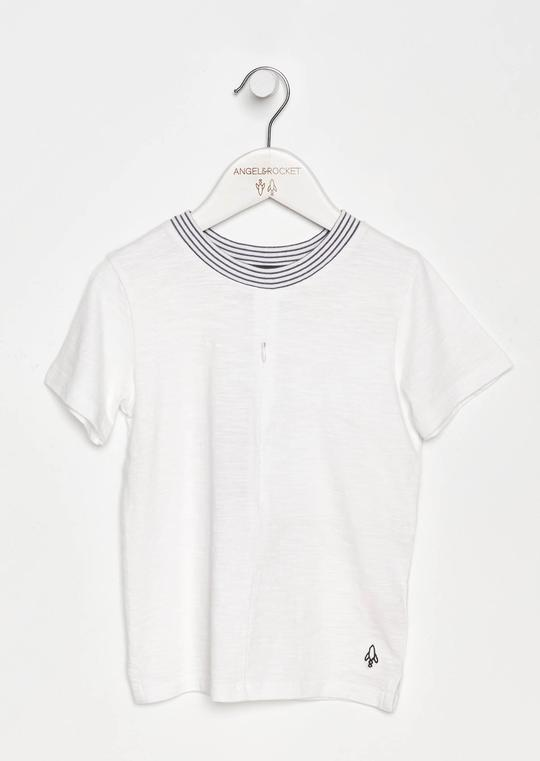 Angel & Rocket Albert Zip Front Tee
