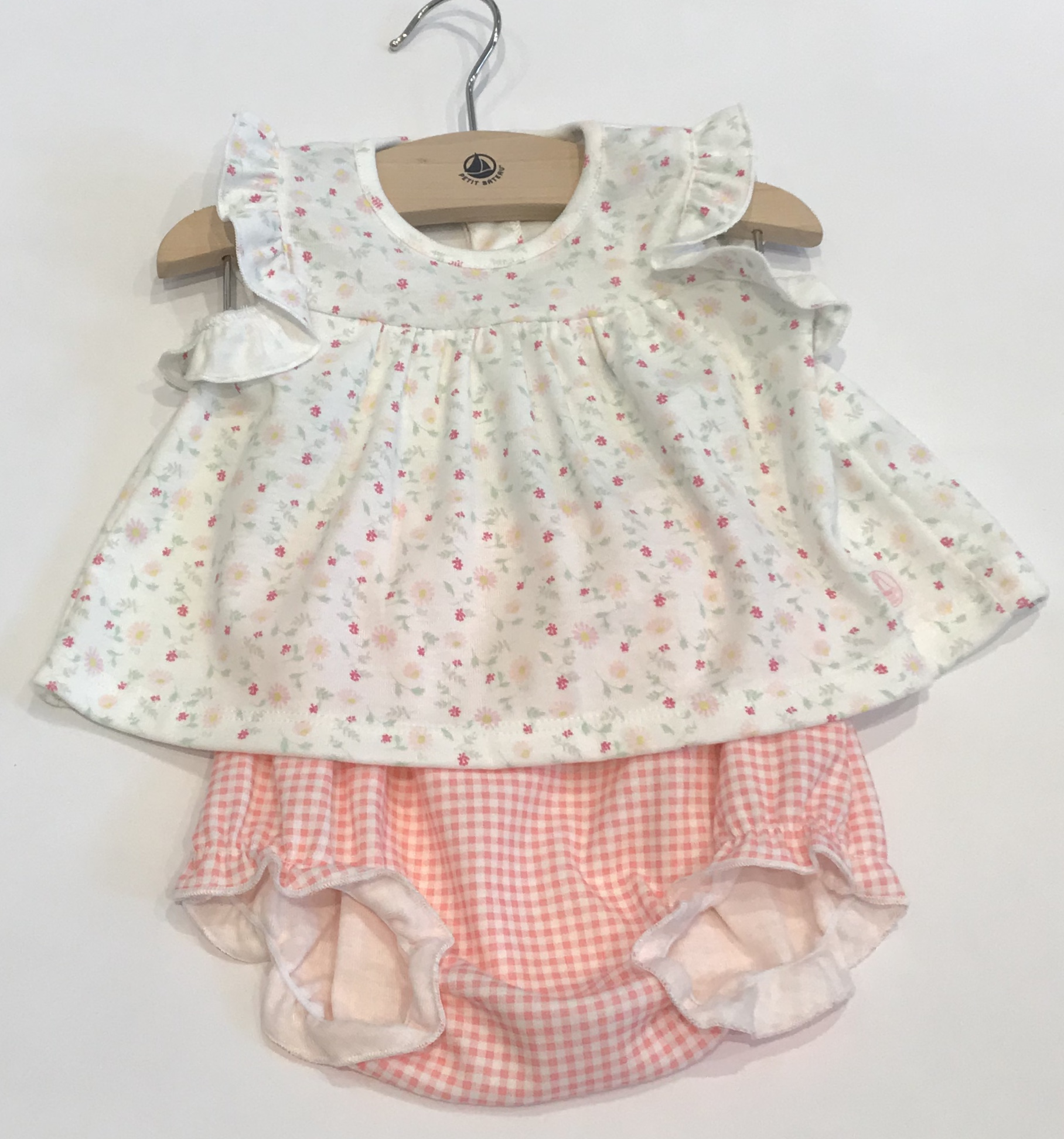 Petit Bateau 2 Piece Dress Set