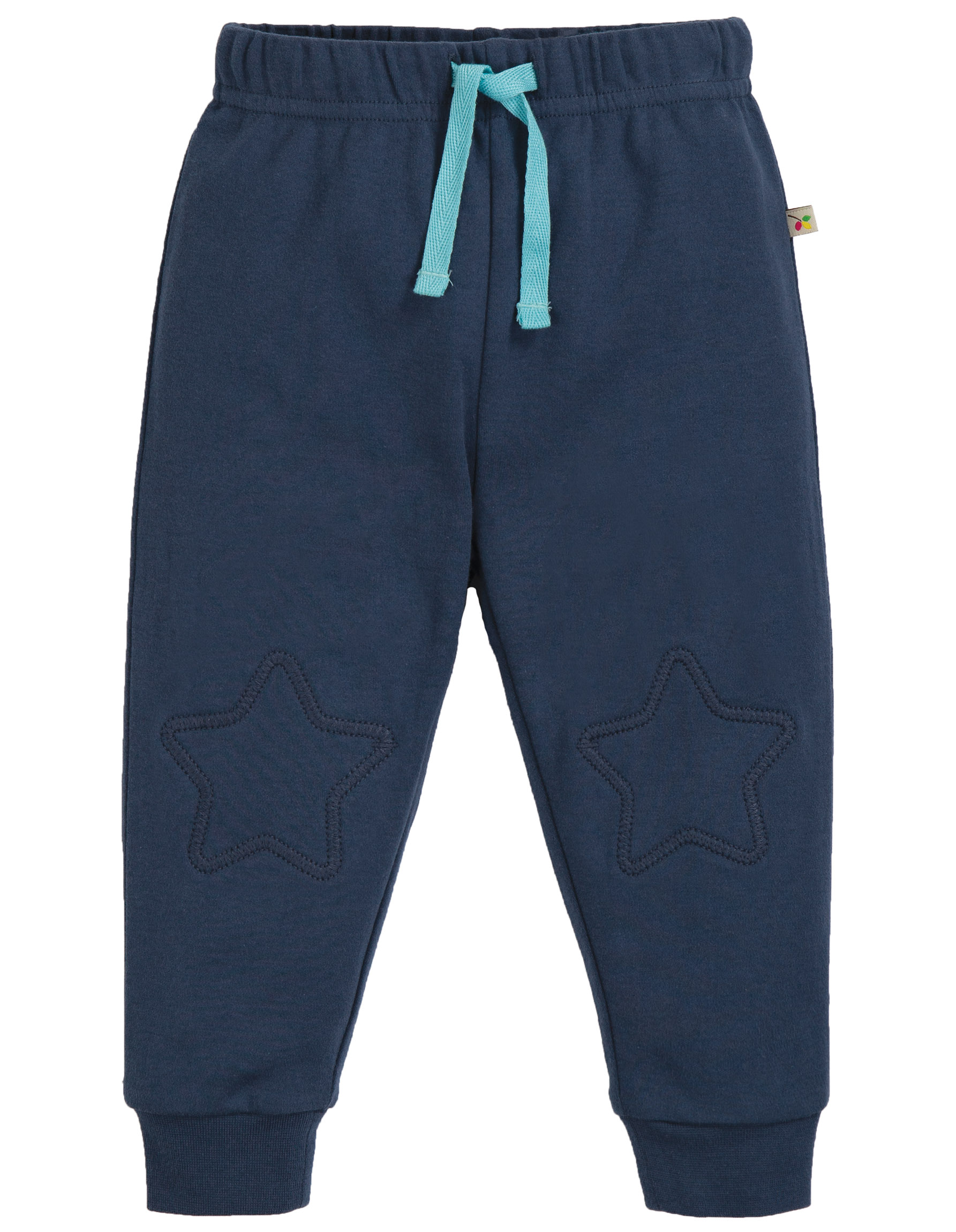 Frugi Kneepatch Crawlers Space Blue