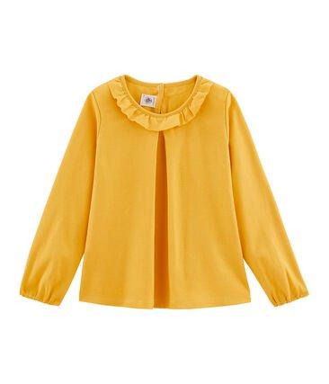 Petit Bateau Mustard Long-sleeve Top