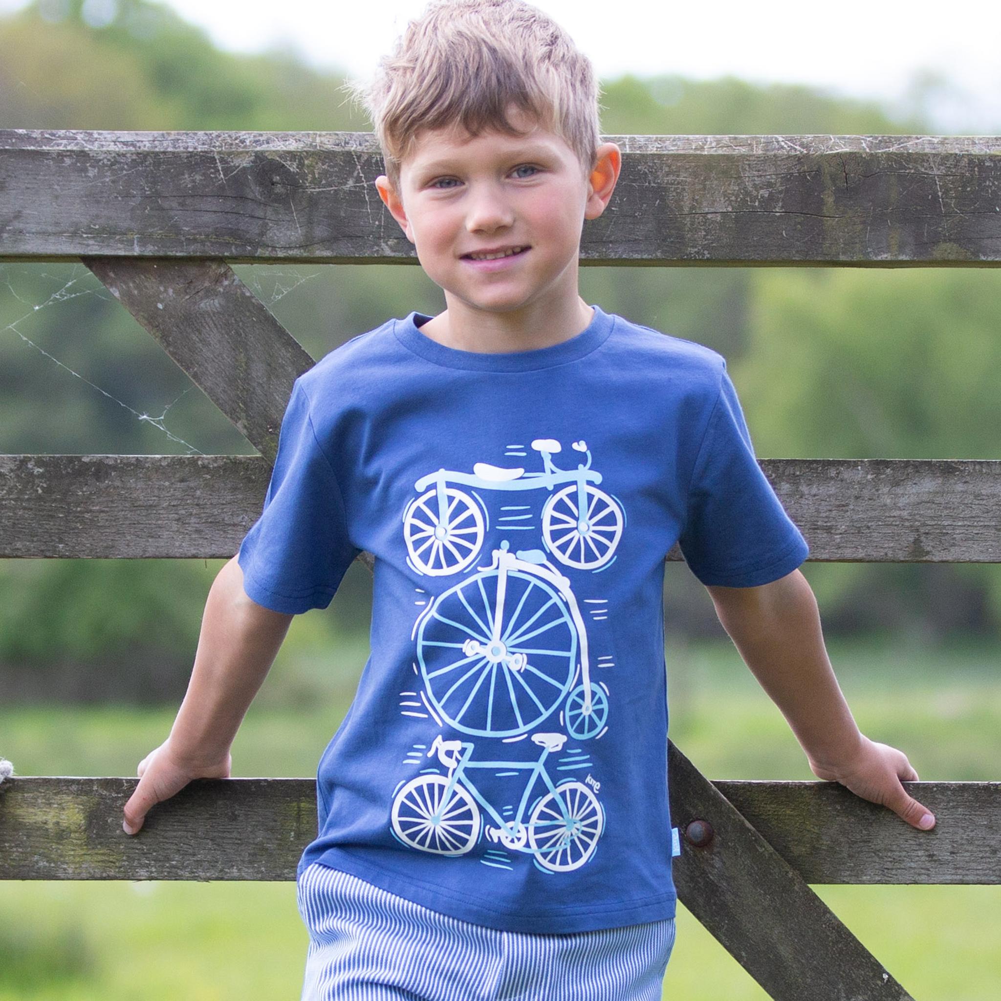Kite Bike Evolution T Shirt