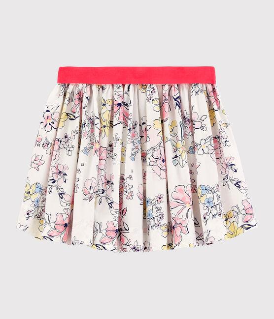 Petit Bateau Floral Poplin Skirt