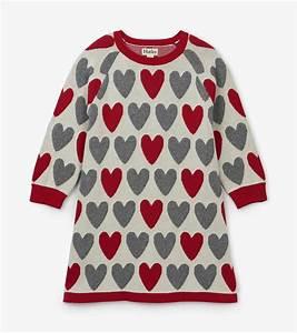 Hatley Festive Hearts Sweater Dress