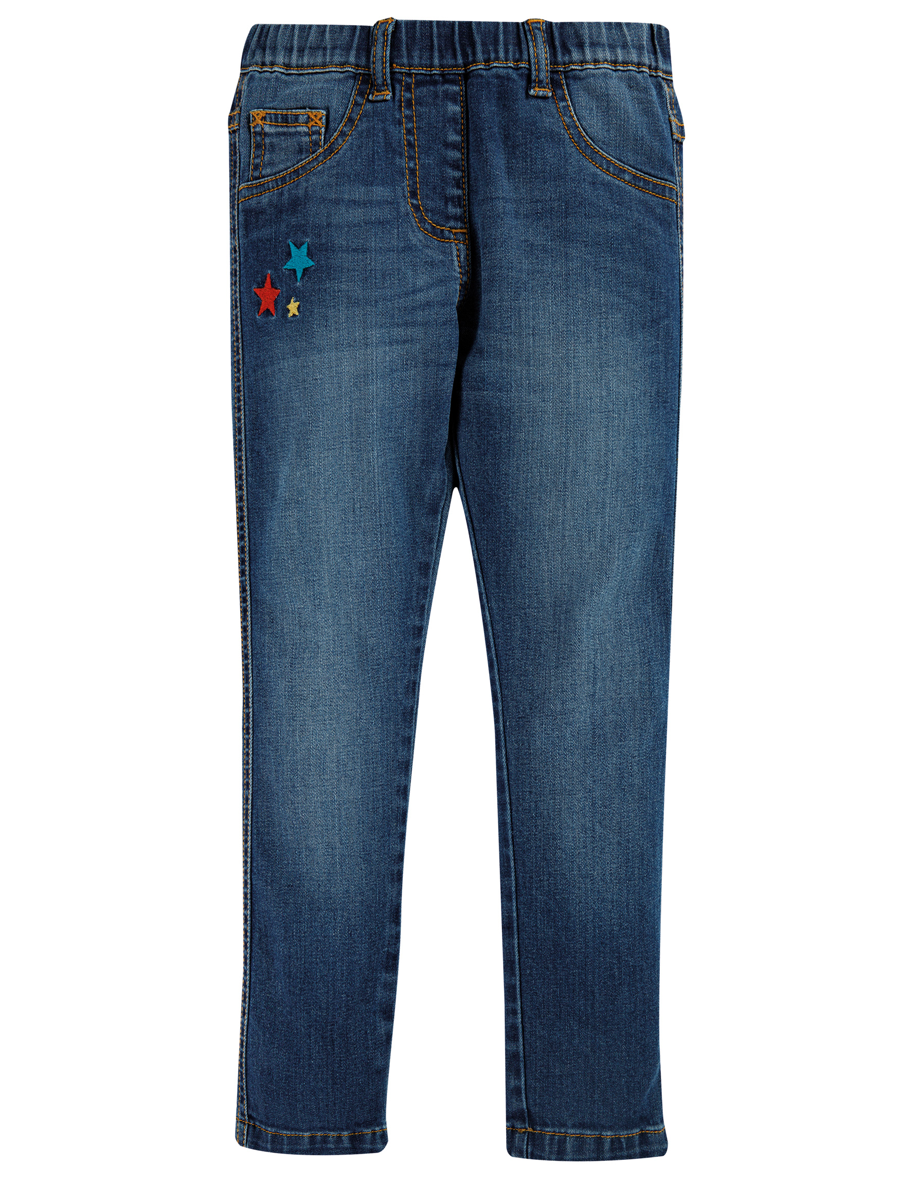 Frugi Julie Jegging, Mid Wash Denim