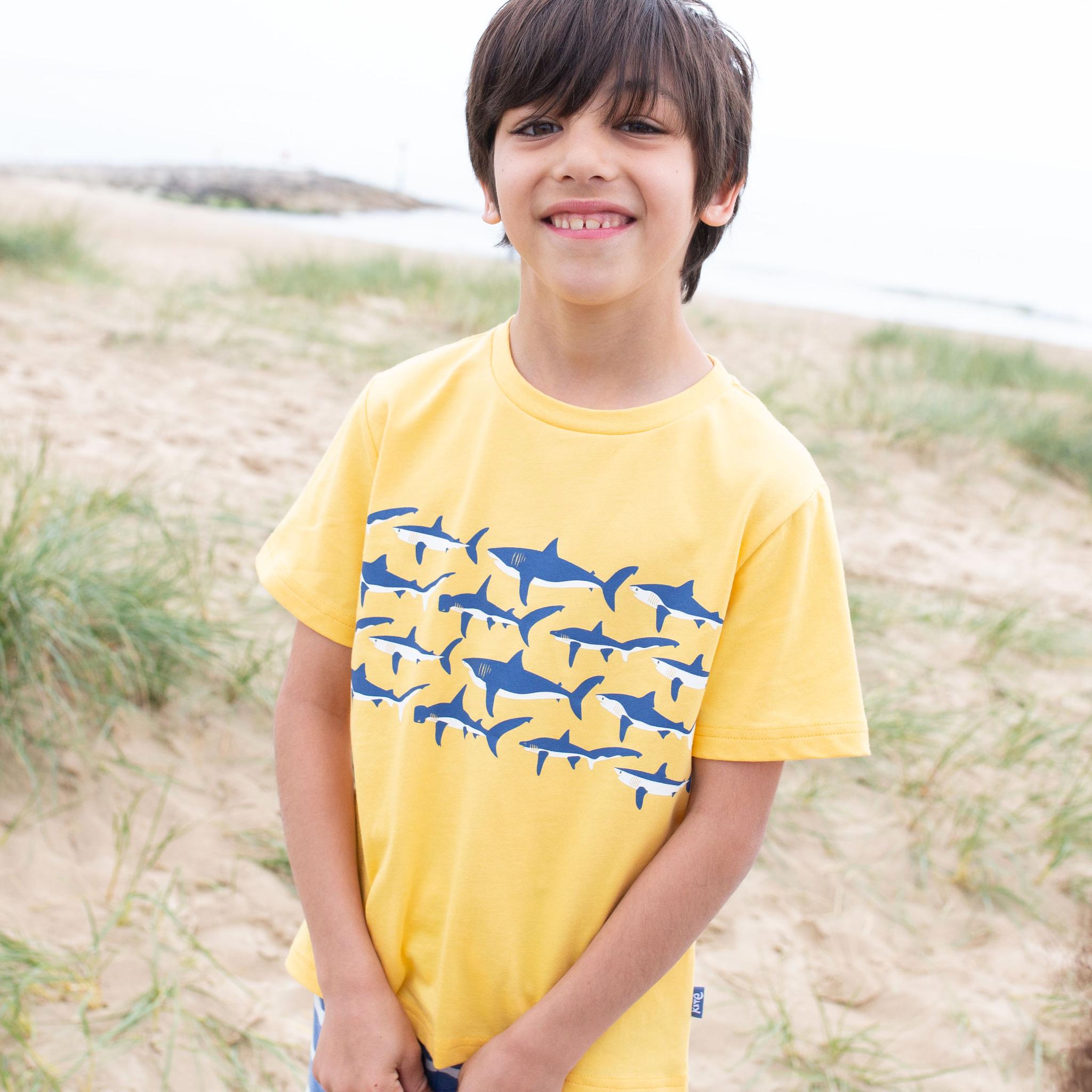 Kite Shark Shiver T Shirt