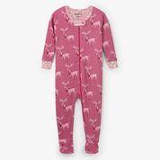 Hatley Darling Deer Organic Cotton Sleepsuit