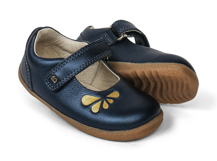 Bobux SU Delight Mary Jane Navy Petal