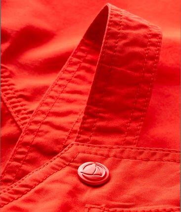 Petit Bateau Red Dungarees