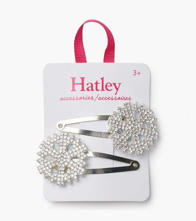 Hatley Festive Snowflakes Snap Clips