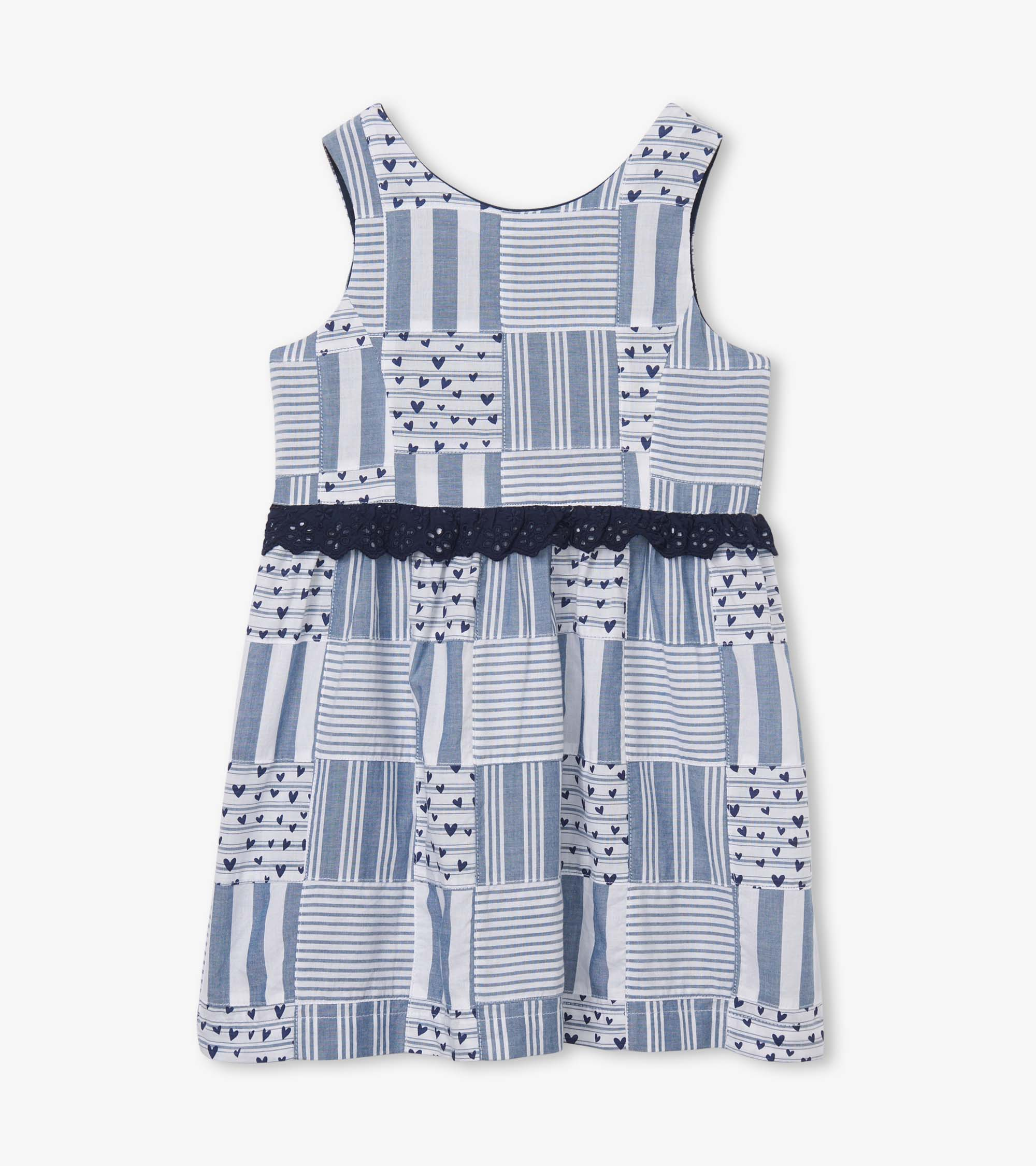 Hatley Blue Madras Dress