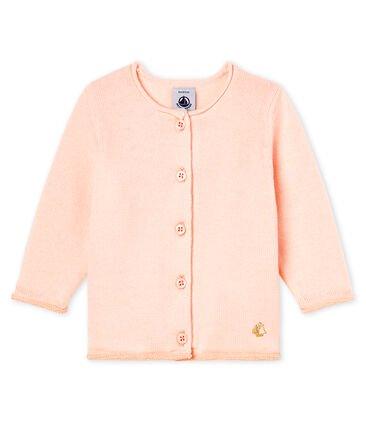 Petit Bateau Pale Pink Cardigan