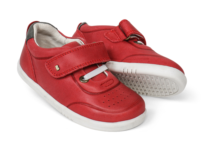 Bobux SU Ryder Trainer Red+Charcoal