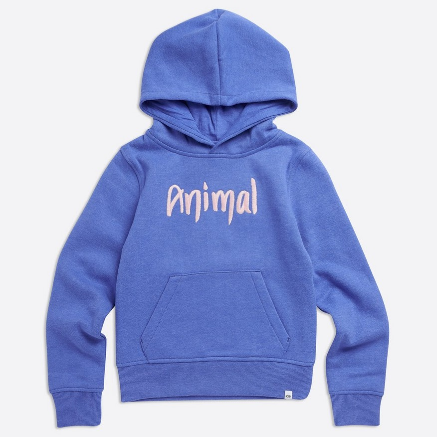 Animal Rachelle Hoody, Blue Marl