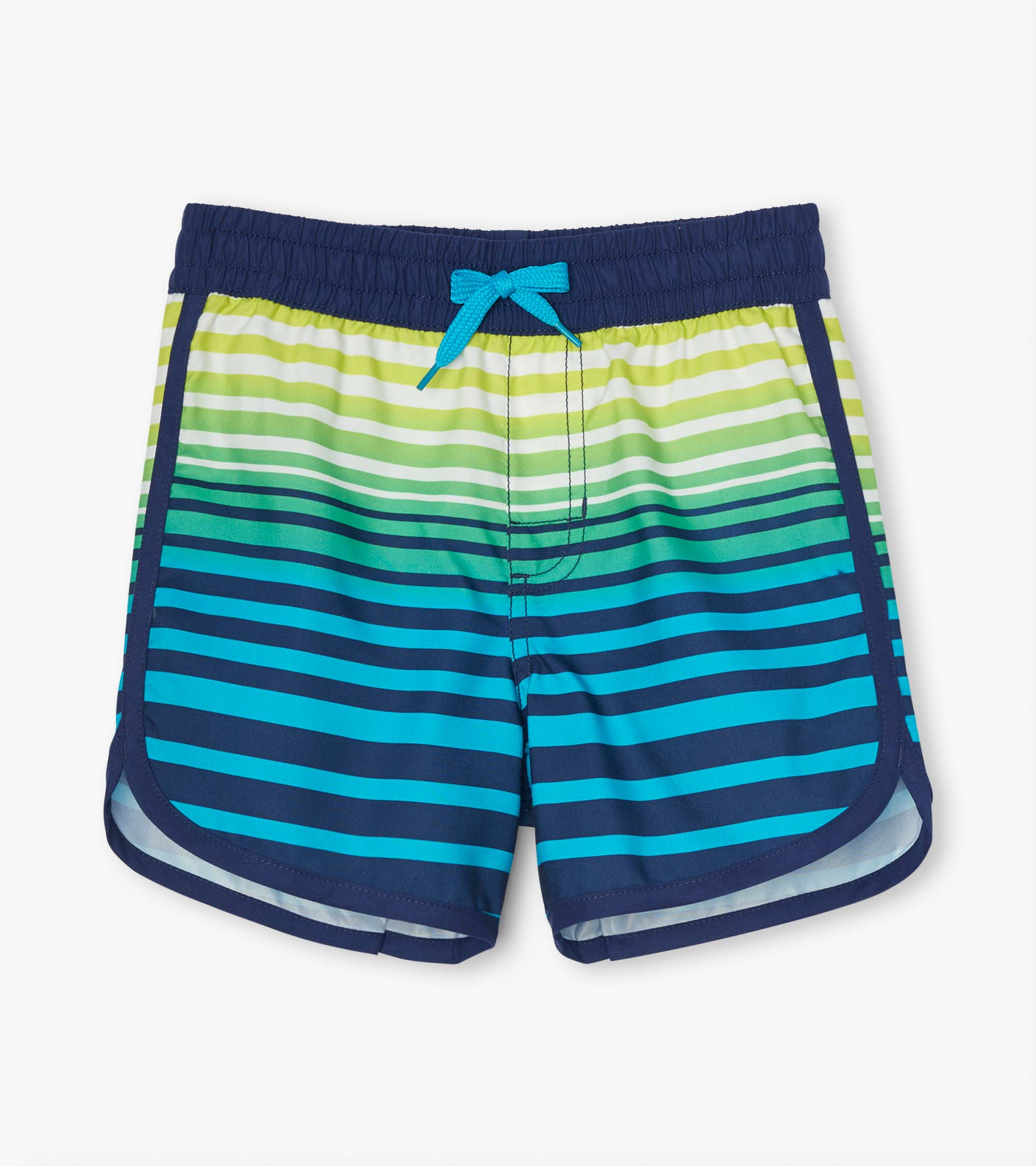 Hatley Cool Stripes Swim Shorts