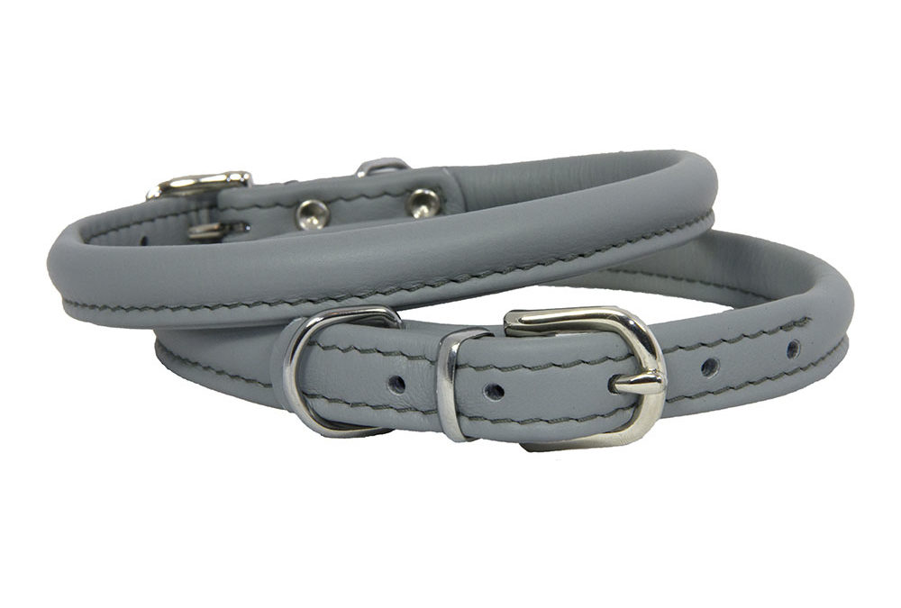 Earthbound Rolled Leather Collars
