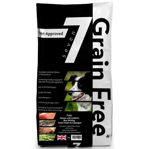 Large 12KG Seven Grain Free Working Dog Food