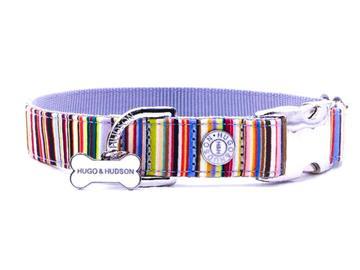 Hugo & Hudson Metal Buckle Printed Collars