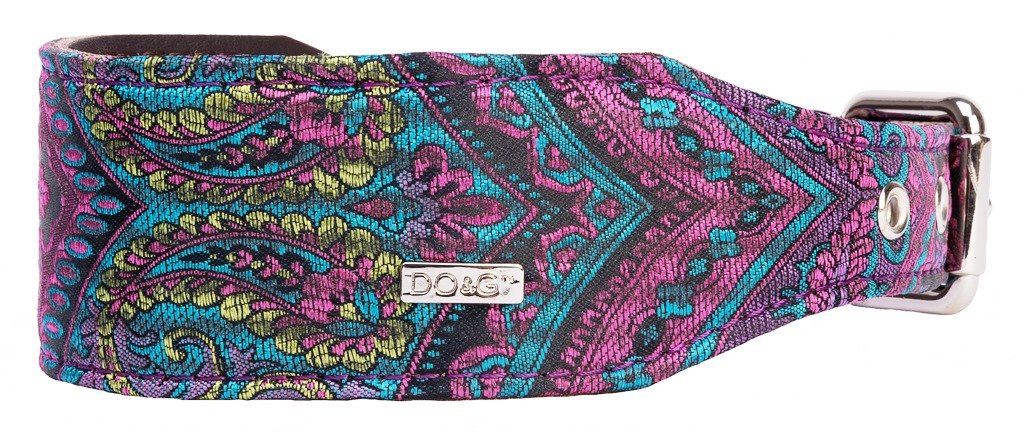 DO&G Sighthound Oriental Silk Collars