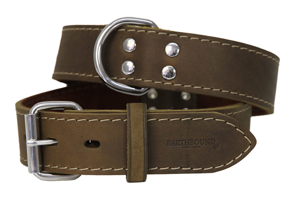 Earthbound Ox Leather Collars