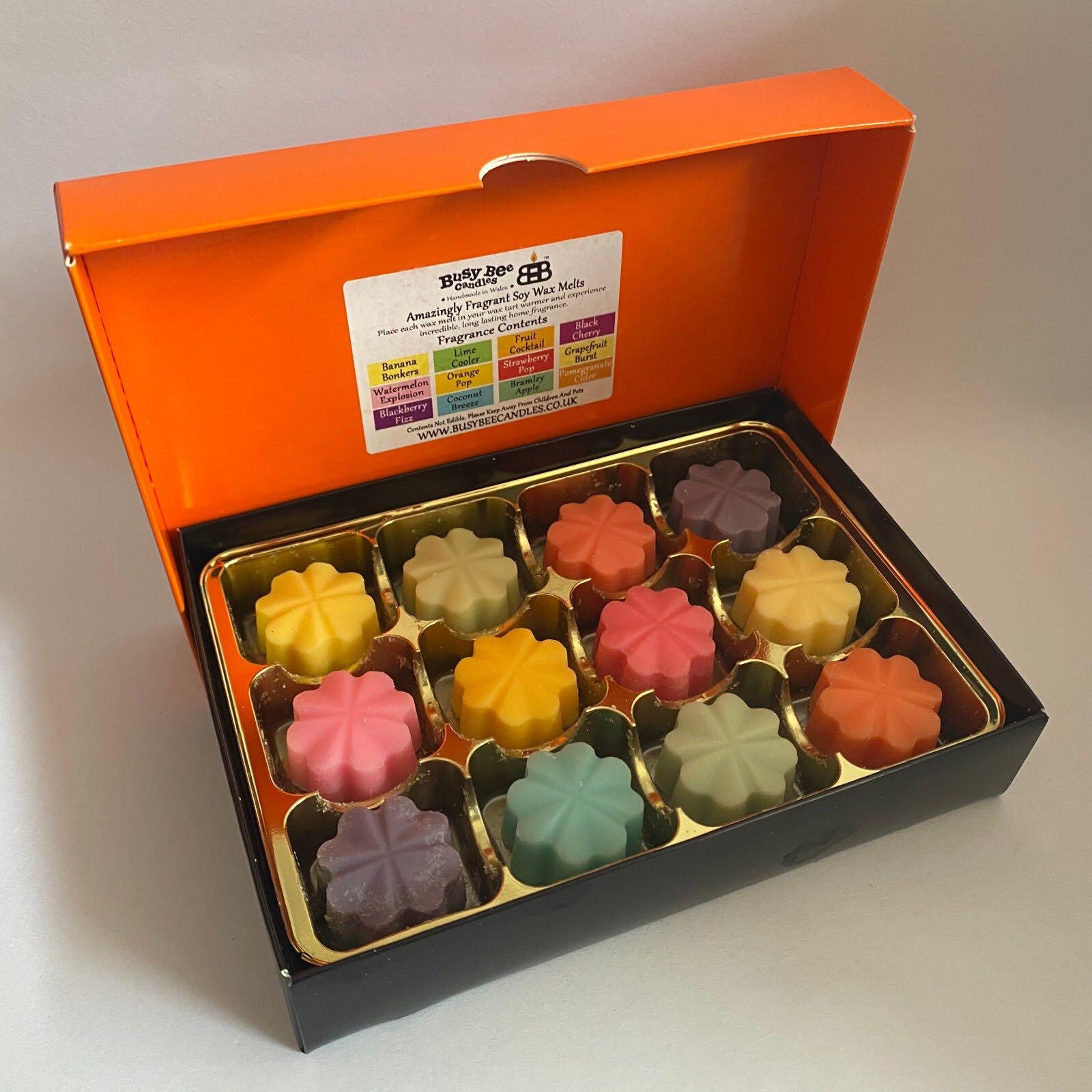 'Fruity' Wax Melt Selection Box (Was £12.00)