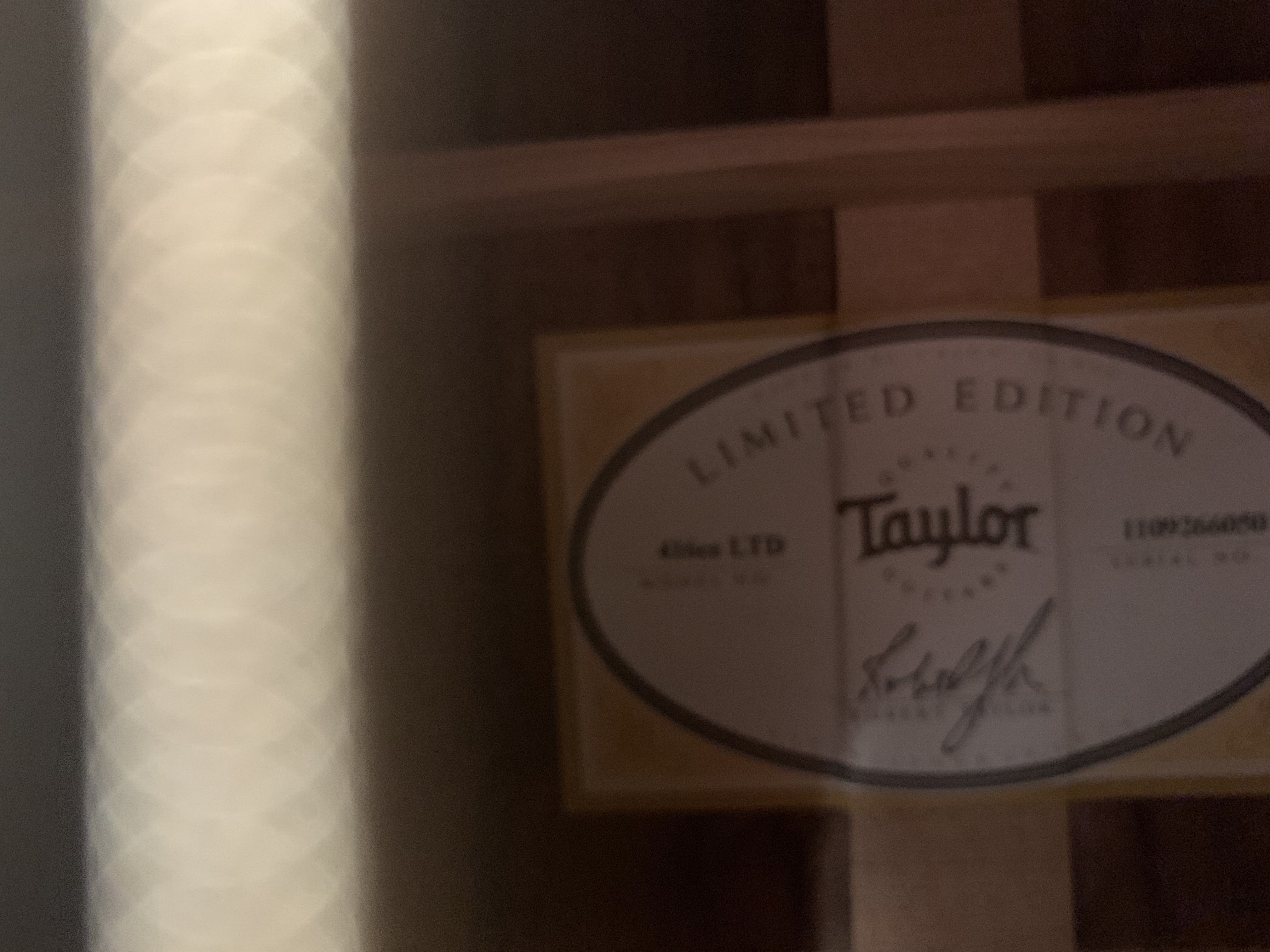 Taylor 416 CE LTD with case (2nd Hand - Immaculate)