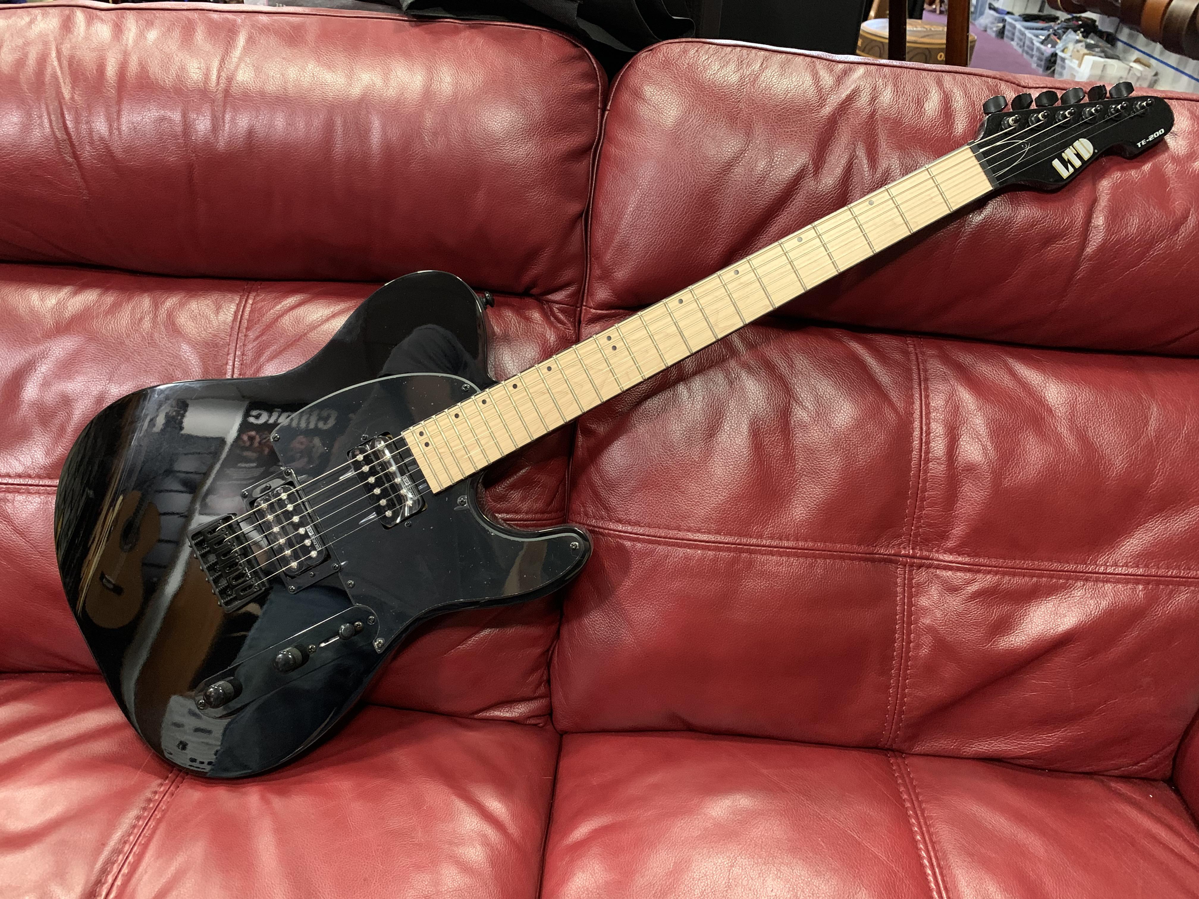ESP LTD TE-200 Electric Guitar (Black) (RRP £299 - Lockdown Price £249)