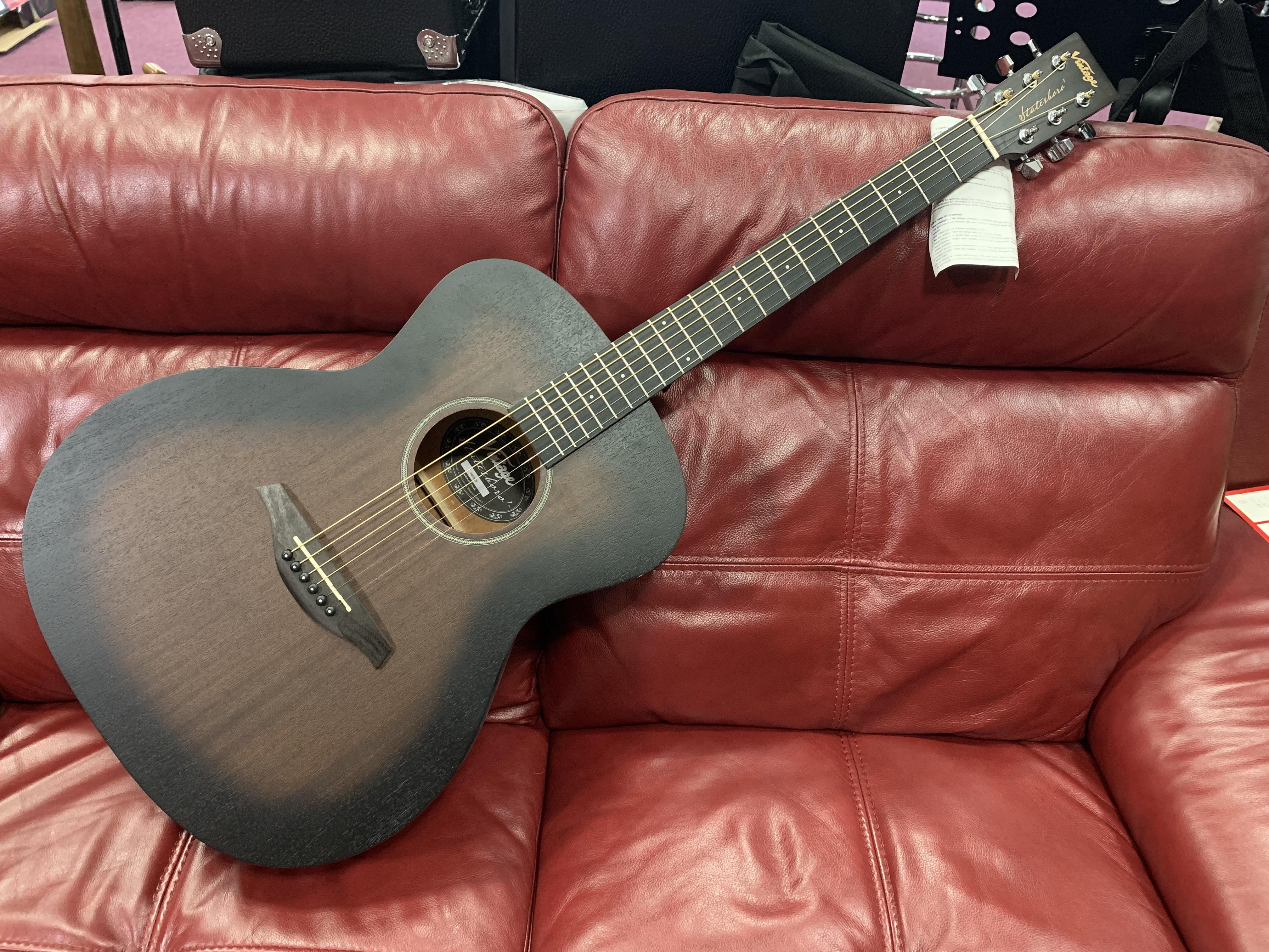 Vintage Statesboro V660WK Acoustic Guitar