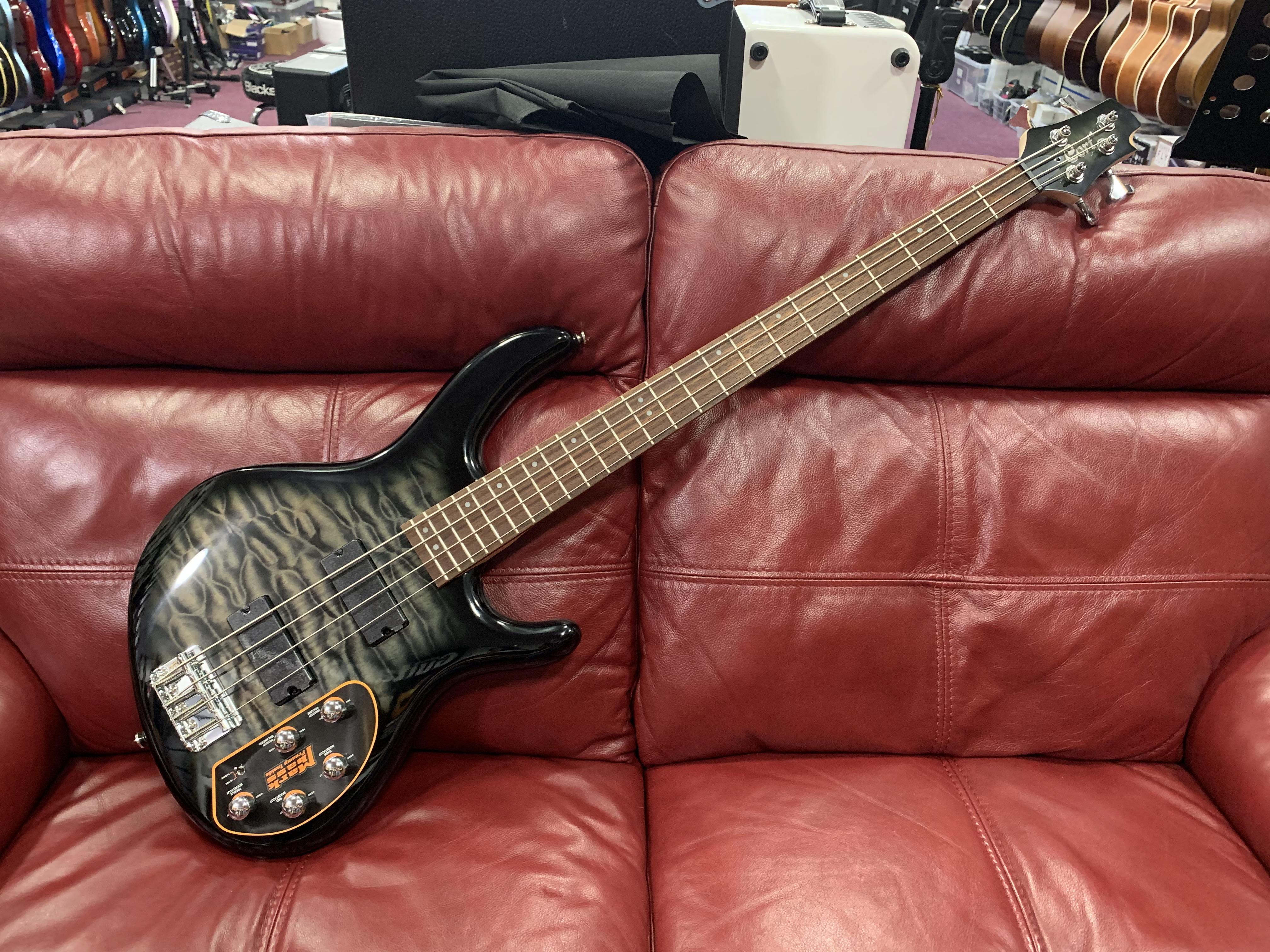 Cort Action Deluxe Plus Bass Guitar