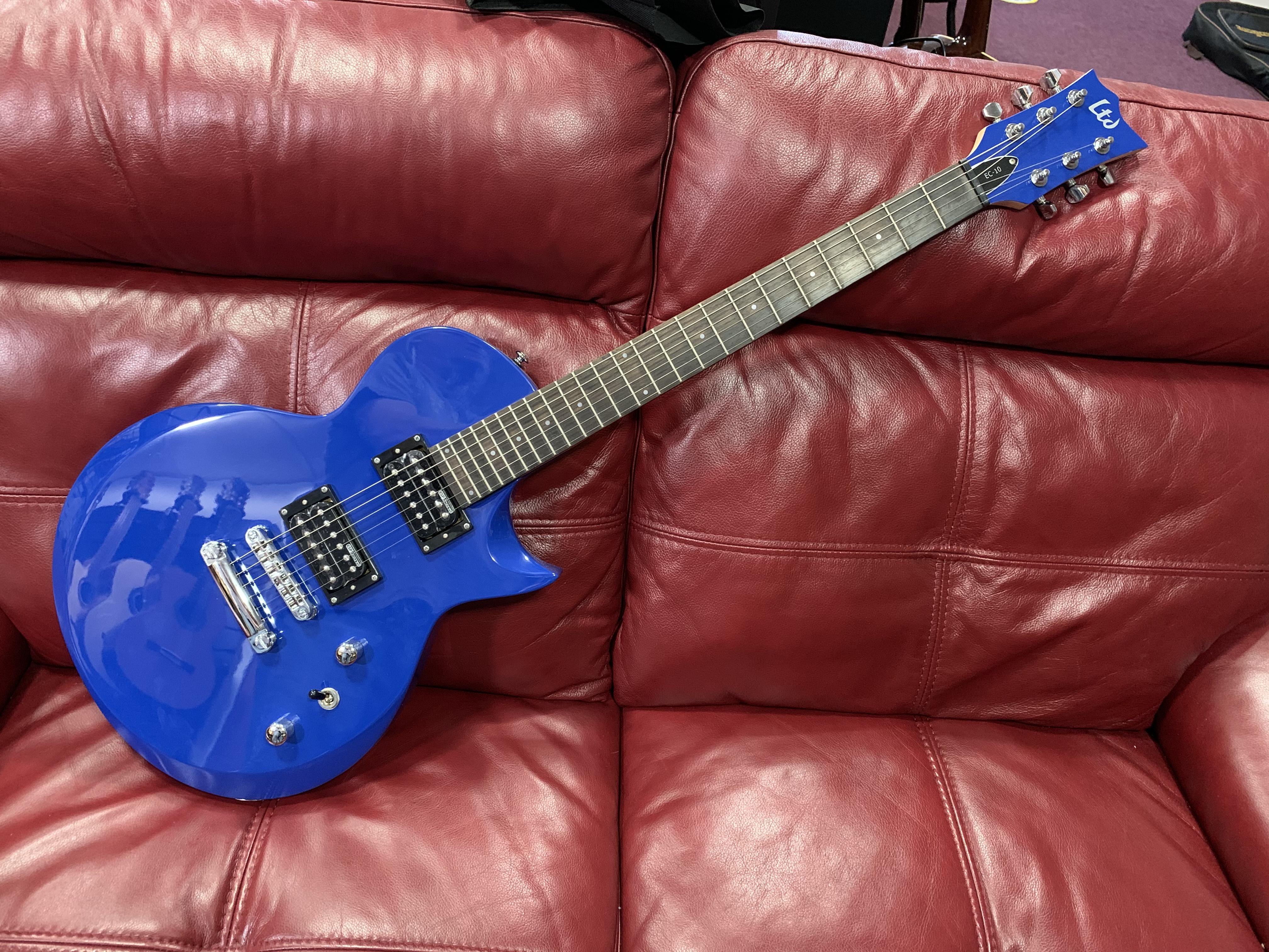 ESP LTD EC-10 Electric Guitar (Blue)
