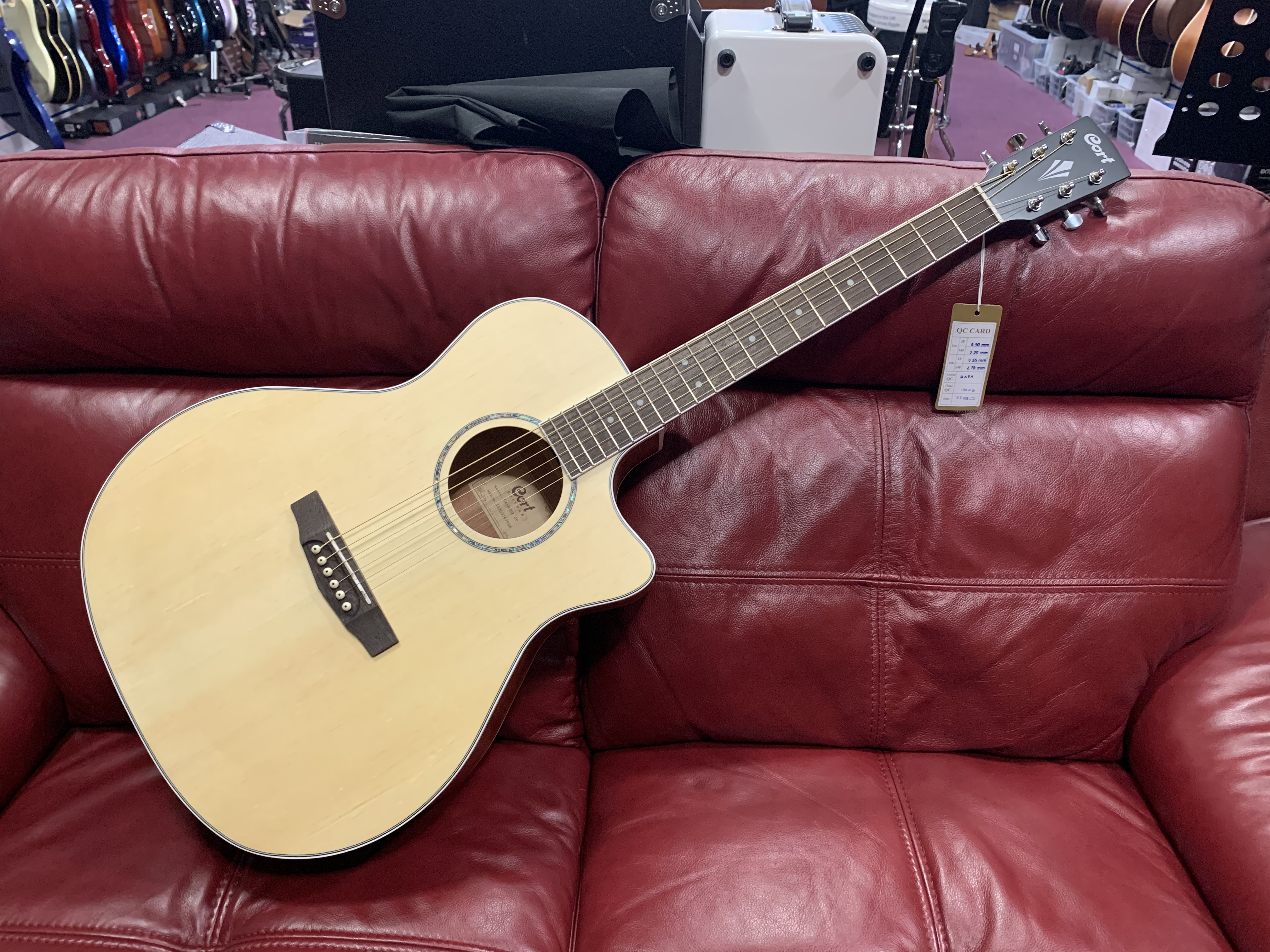 Cort GA MEDX OP Electro Acoustic Guitar