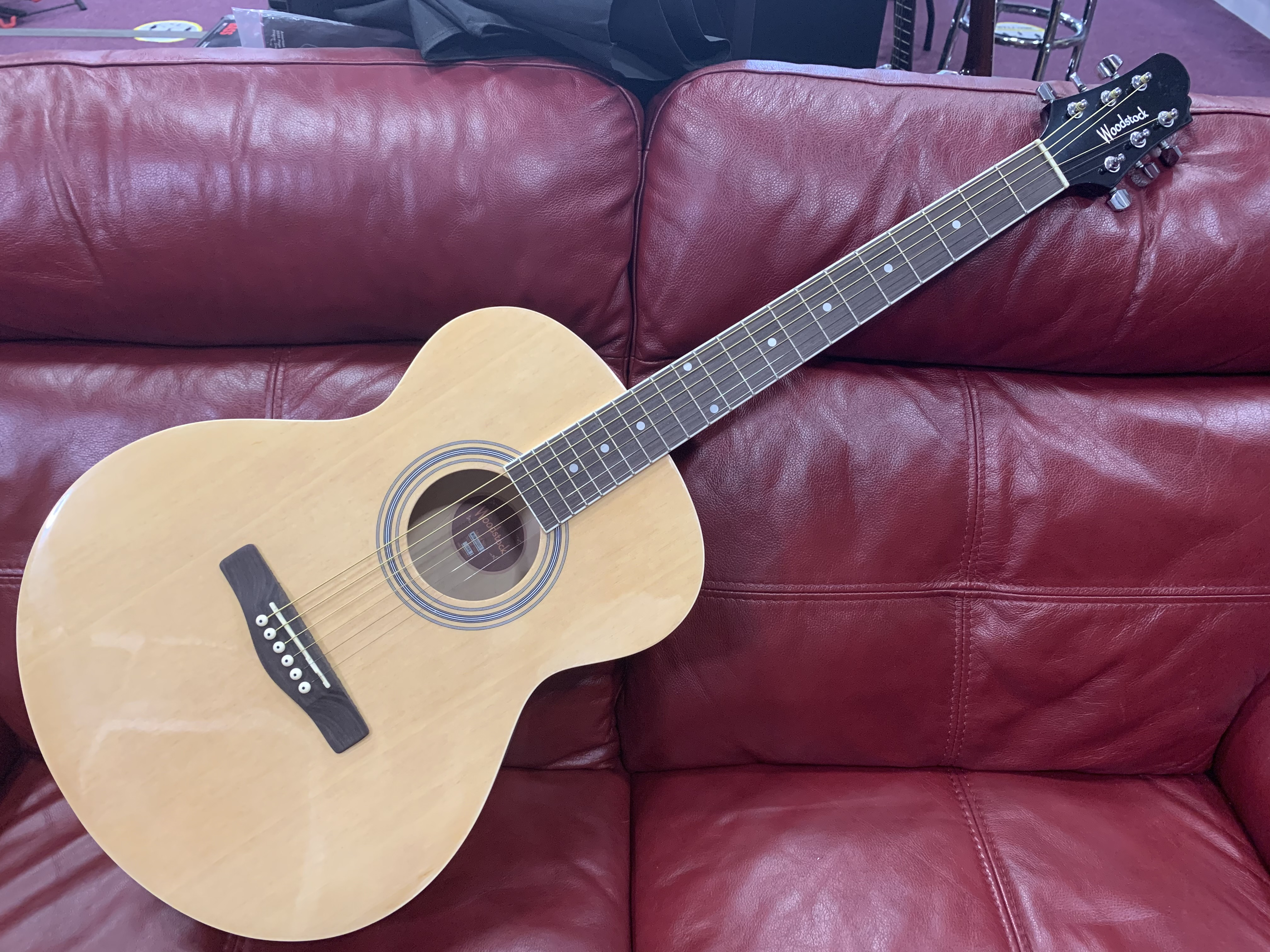 Woodstock Starter Acoustic Guitar (In store or online then pickup only)