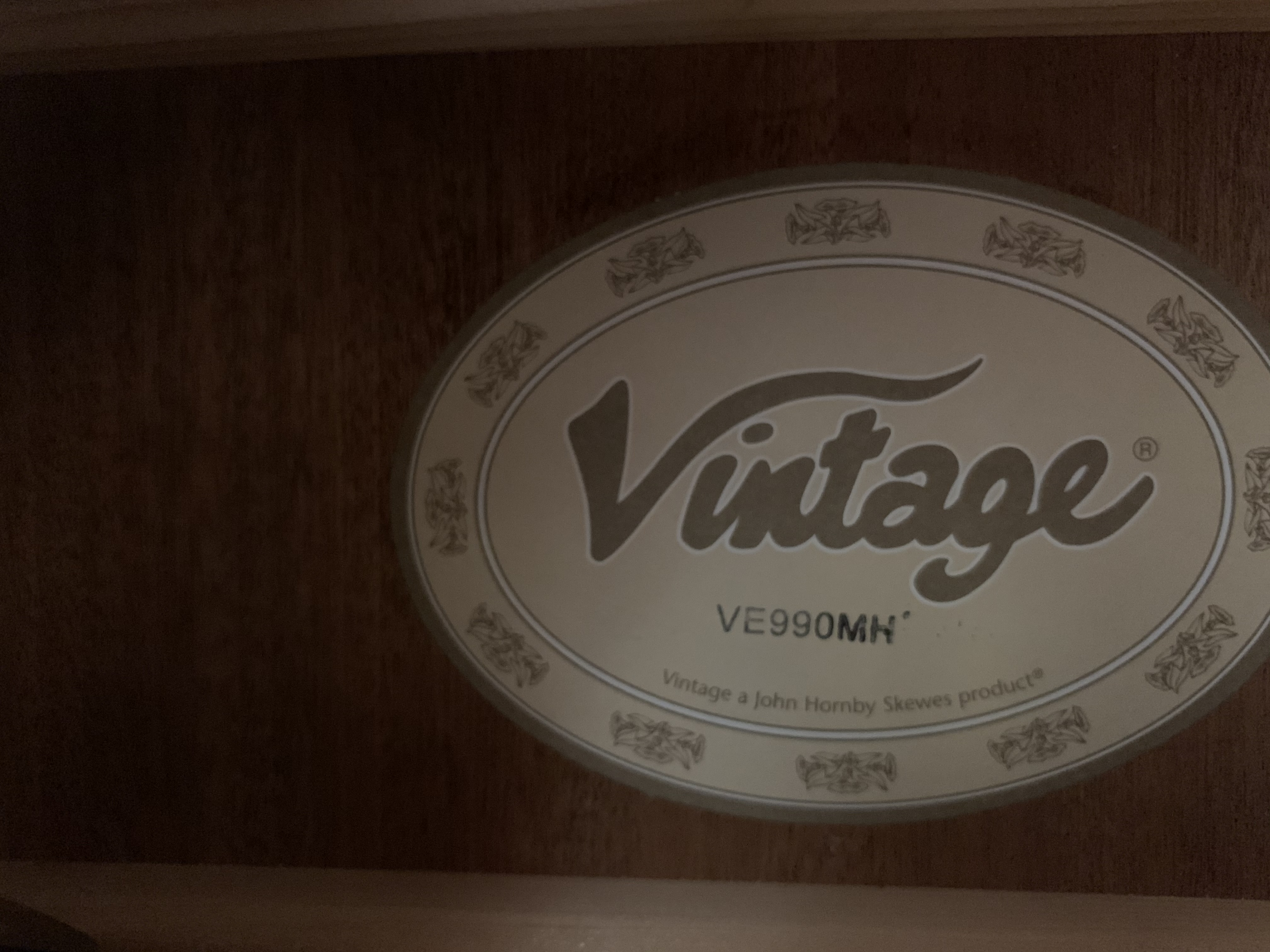 Vintage VE990 MH Electro Acoustic Guitar