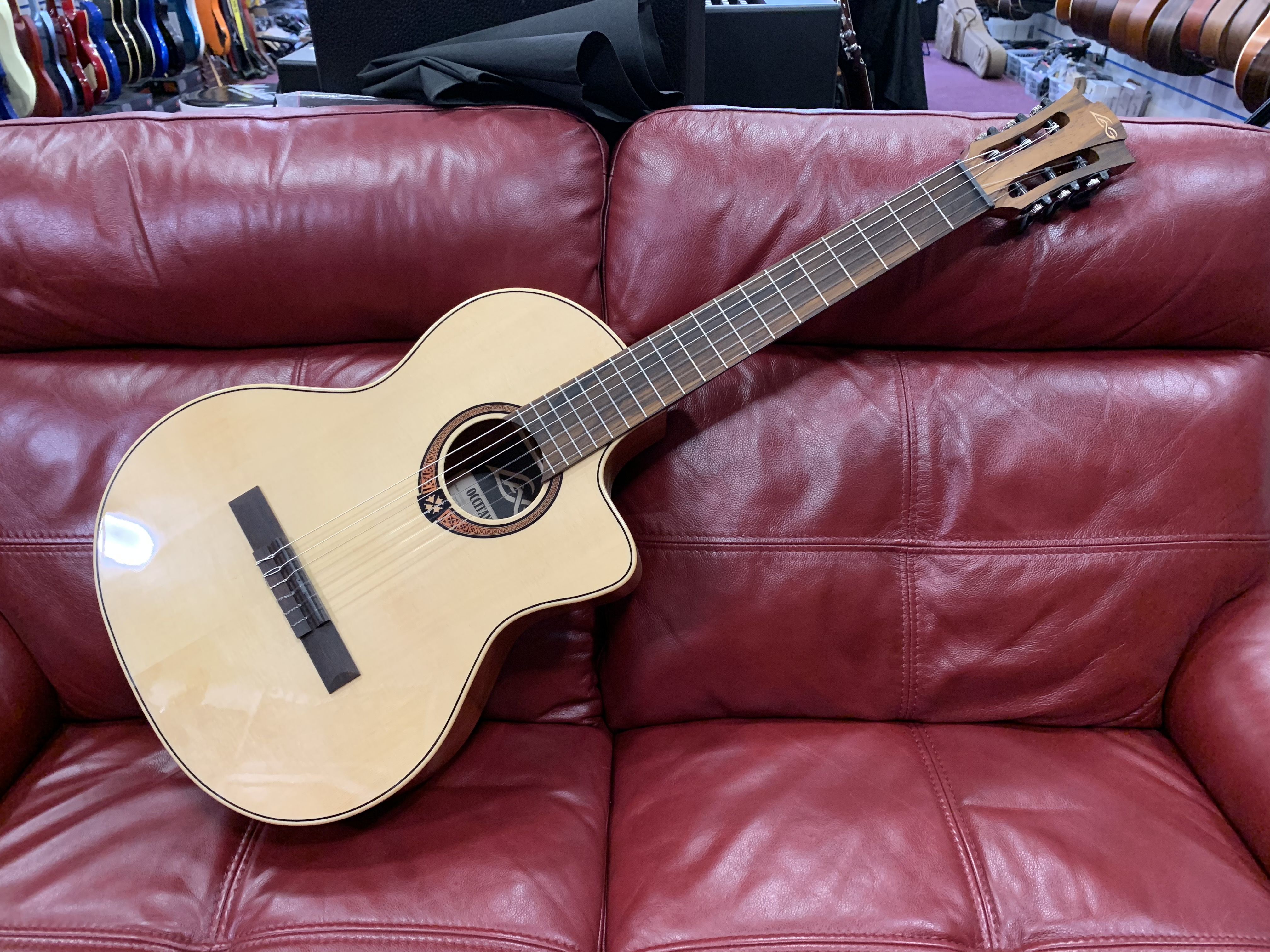 LAG OC88CE Electro Acoustic Classical Guitar