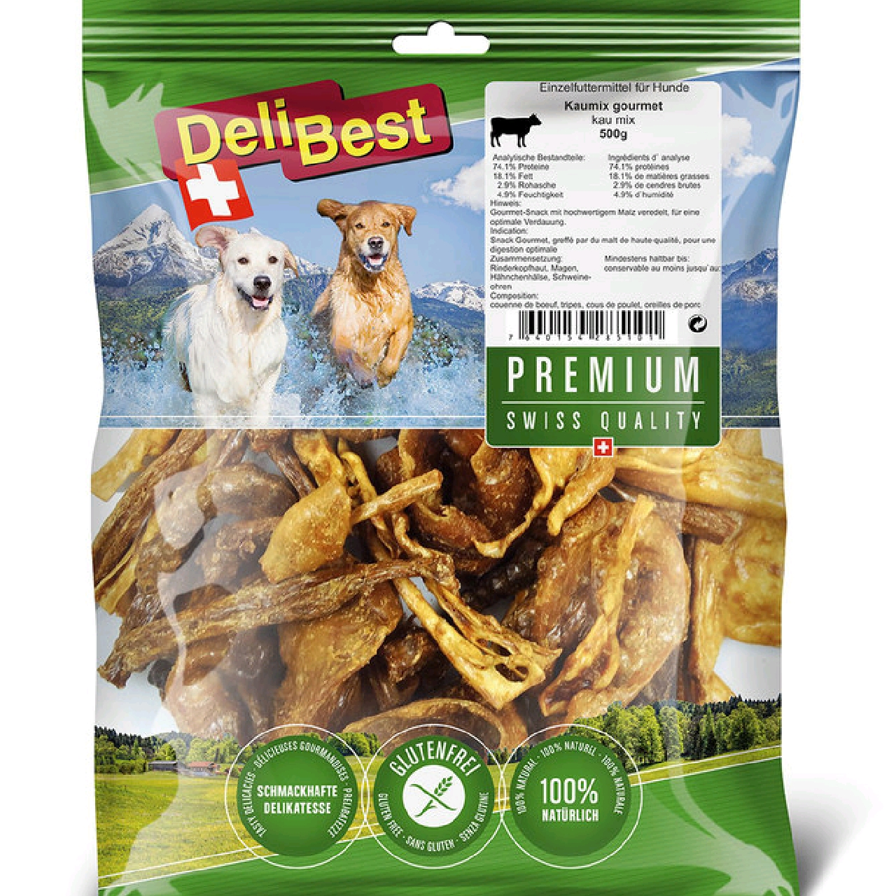 DeliBest Mix tygg 500g