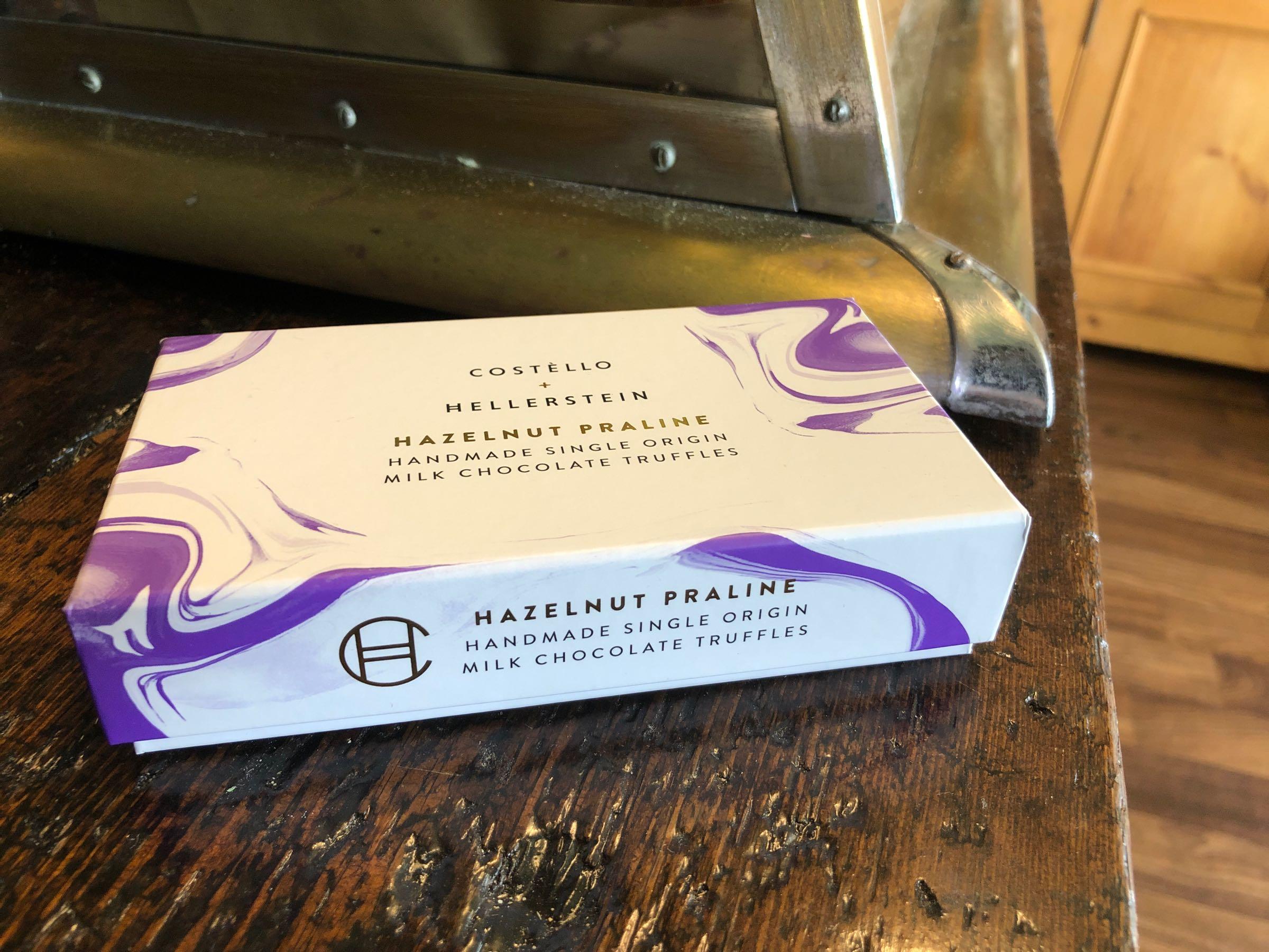 Costello + Hellerstein Hazelnut Praline Chocolate Truffles