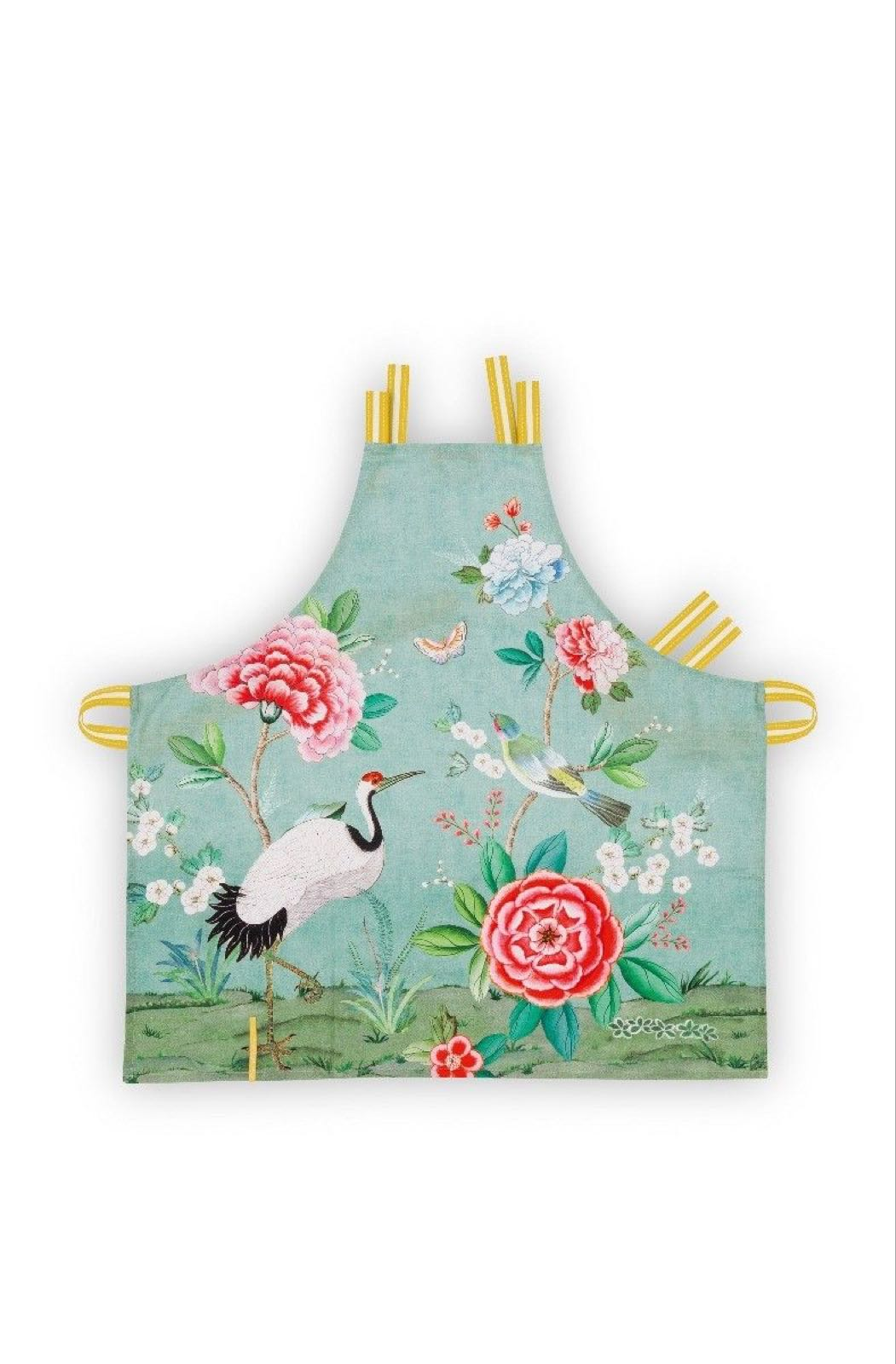 Pip studio blushing birds apron