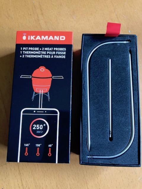 iKamand Probe Kit extra probes för Kamado Joe Classic och Big Joe