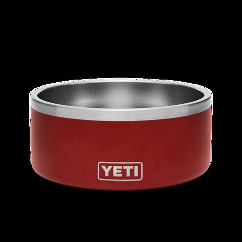 YETI Boomer Dog Bowl Brick Red