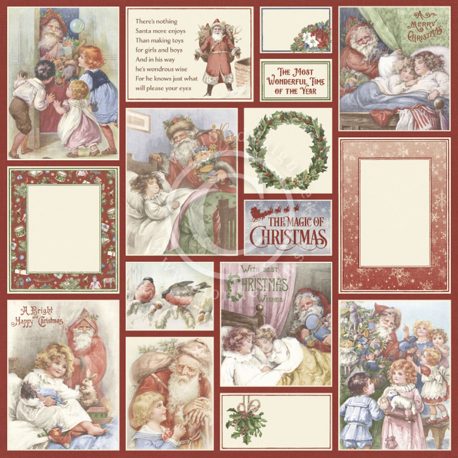 Pion design - A christmas to remember -Santa delivers PD30013.