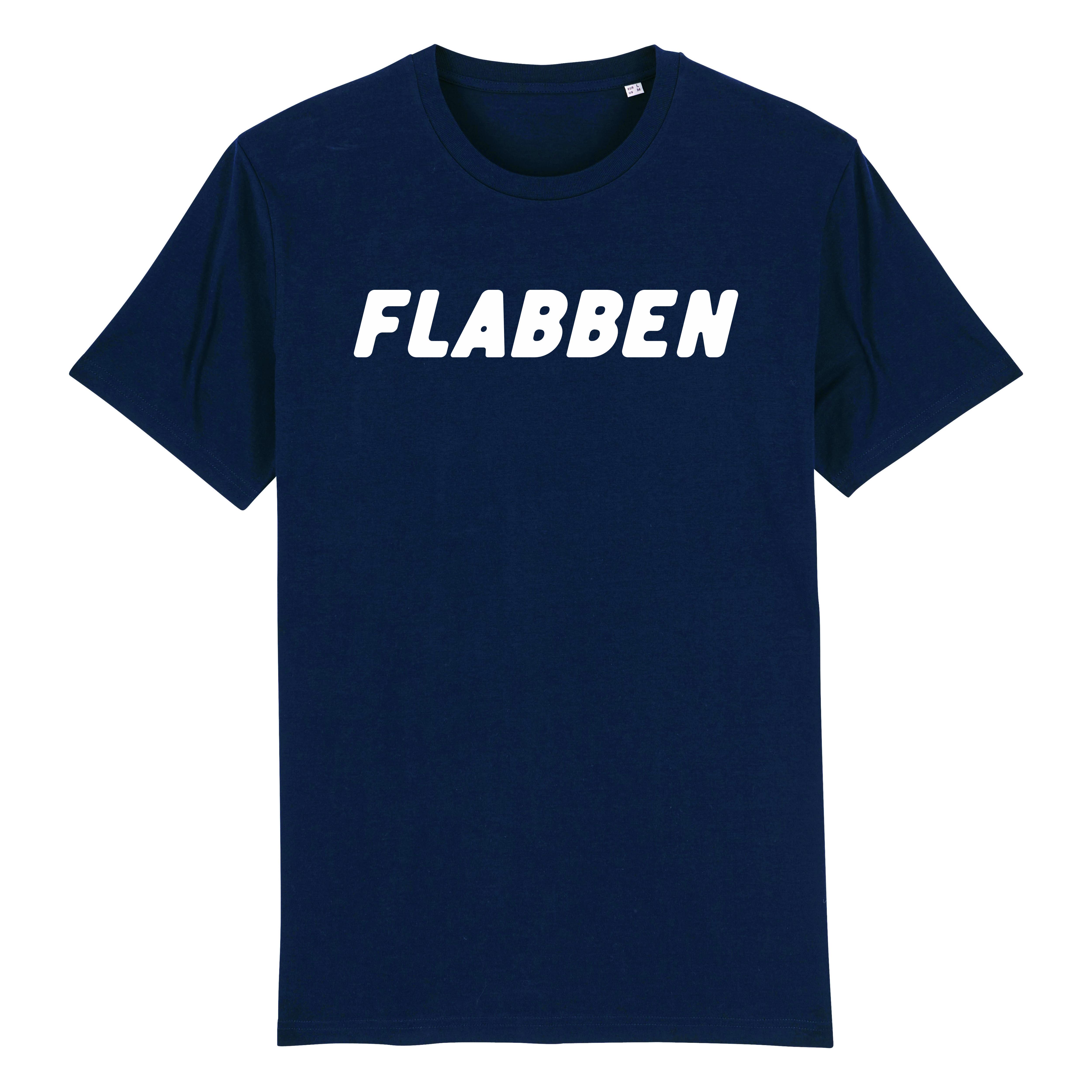 Flabben - T-shirt Navy