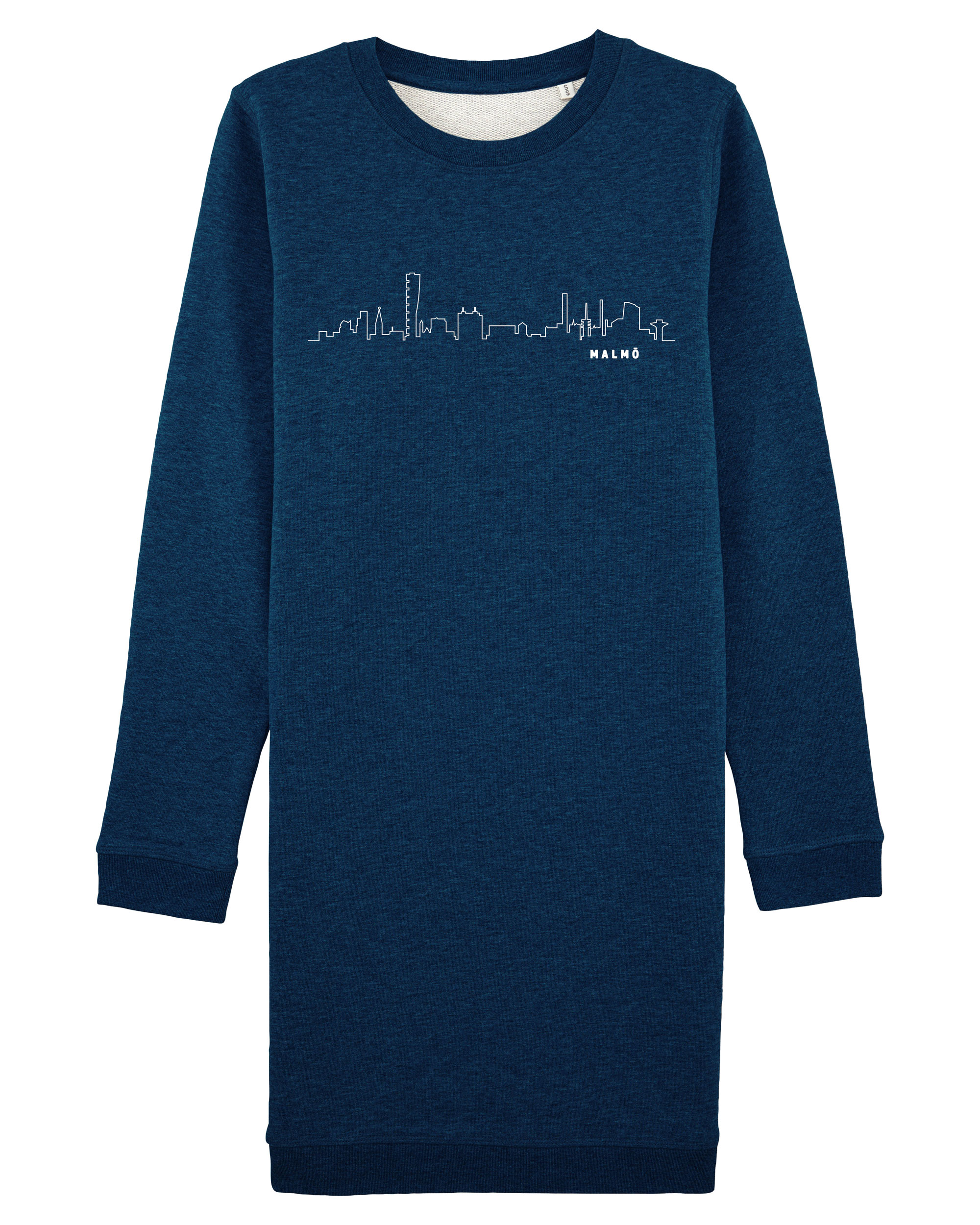 Skyline Outline - Damklänning Navy